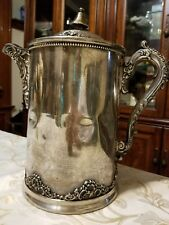 Antique Victorian silver plated
