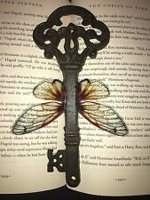 CUSTOM FLYING KEY PROP HANDMADE FOR HARRY POTTER  CHRISTMAS DECORATION CAST IRON