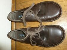 Patagonia Loulu Brown Leather Casual Walking Shoes Men's Size 12, Euro 45