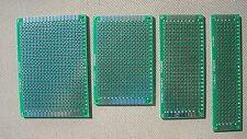 DIY Double-Side Plated Through Prototype PCB Board, 2 each 5x7 4x6 3x7 2x8CM