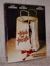 Trick Or Treats (Blu-ray, 2021) Jackelyn Giroux Peter Jason Chris Graver horror
