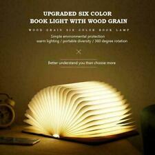 Buch Lampe Falten tragbare Schreibtischlampe LED Laterne E1K9 wiederaufl US X0K1