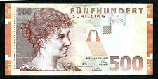 More details for austria (p154) 500 schilling 1997