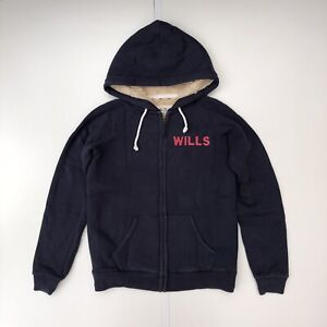 Jack Wills Faux Fur Lined Hoodie Size 12