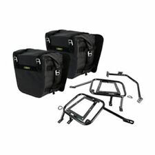 Honda Africa Twin CRF1000L DCT Tusk Pannier Racks w/ Nelson Rigg Dry Saddlebags