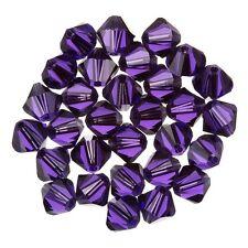 Swarovski Crystal Bicone (277) Purple Velvet 6mm Beads Pack of 30 (D22/7)