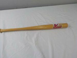 "Vintage Kinston Indians Miniature Mini Baseball Bat Signed By Scout  18"""