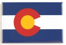 Colorado State Flag FRIDGE MAGNET (2 x 3 inches)