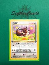 Sleeve & Top Loader English 61/64 NM Rhyhorn 1st Edition Jungle Pokemon Card