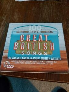 Various Artists - 100 Hits: Great British Songs - Various Artists CD NGVG The