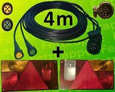 Aspöck Multipoint 1 Leuchten Set - 13polig 4m Kabelbaum - Anhänger Beleuchtung