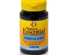Omega 3 6 9 1000 mg 30 perlas NATURE ESSENTIAL