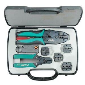 6PK330K PROSKIT Coaxial Crimp Tool Kit Pk4017 Replacement 6Pk-330K Crimping Tool