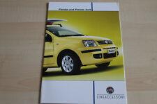 95246) Fiat Panda + 4x4 Zubehör Prospekt 05/2009