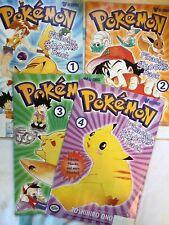 More details for pokemon pikachu shocks back issue 1-4 - viz comics, ash misty & brock! offical
