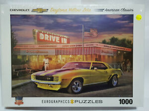 Eurographics 60986 Daytona Yellow Zeta 1000 pce jigsaw