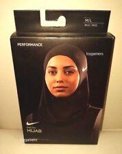 Nike Pro Hijab Womens Black - Brand New in Box - XS/S M/L - Free Shipping