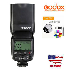 Godox TT600 2.4G HSS Wireless Flash Speedlite For Canon Nikon Camera US STOCK