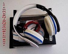 cuffie dj HEADPHONES-GUSON STEREO PC MP3 GAME CD DVD IPOD SPORT PIEGHEVOLI nuovo