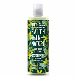 Faith in Nature Algues & Agrume Après-shampoing 400ml - Végétalien- sans Paraben