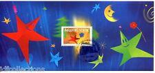 bloc feuillet souvenir N° 3 de 2004 meilleurs voeux oblitéré 1er jour