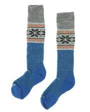 Smartwool PhD Slopestyle Medium Wenke One Pair Socks in Glacial Blue 8206 Size M