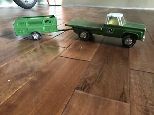 1970's Nylint Farm Stake Truck & Trailer