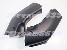 Ram Air Tube Cover Fairing Parts For Kawasaki ZX6R 00-02 ZZR600 05-08 Black #dr