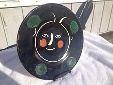 "Picasso Ceramic Plate ""Black face"""