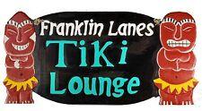Tiki Lounge Schild für Restaurant oder Hobbyraum 48cm