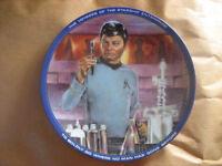 Dr. McCoy - Star Trek Collector Plate Hamilton Collection 1983  #04750