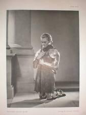 La actriz Ann Casson Richard n Speaight Art Foto 1938