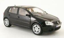 VW VOLKSWAGEN GOLF V 5 2003 BLACK BURAGO 1/18 5 PORTES NOIRE SCHWARZ