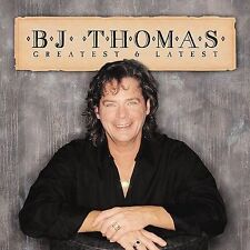 B.J. Thomas Greatest & Latest CD Hooked on a Feeling Raindrops keep fallin on my