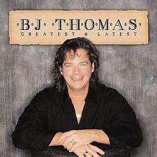 B.J. Thomas Greatest & Latest CD Hooked on a Feeling Raindrops keep fallin on my