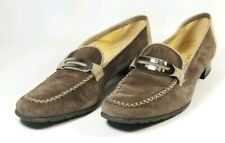 Brunate Loafer Dress Shoes Women's Size 5 / EU 36 Brown Leather (tu10ep)