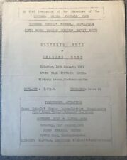 More details for southend boys v reading boys 1960/61