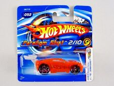 Hot Wheels PARADIGM SHIFT 2005 First Editions X-Raycers *SHORT CARD/BLACK PR5s*