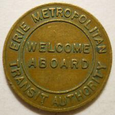 Erie Metropolitan Transit Authority (Pennsylvania) transit token - Pa360E
