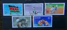 Kenya 1991 Olympic Games Barcelona 1992 1st Issue set Used
