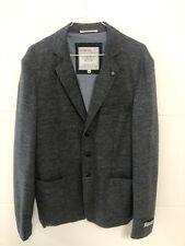 Original CAMP DAVID Herren Sakko Blazer Jacke  Größe M dunkelgrau 70 % Wolle