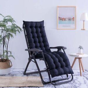 Lounger Recliner Cushion Garden Furniture Patio Chairs Pad Cushion Mattress