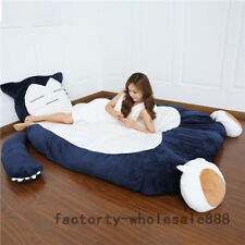Snorlax Tatami Sofa Filled Bed Carpet Beanbag 78'' Pokemon Go カビゴン Mattress Gift