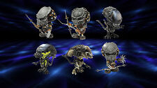 HOT TOYS ALIENS VS PREDATOR REQUIEM MINI COSBABY 1 set = 6 pcs q style figure