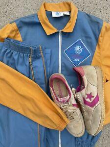 Levis 1984 Los Angeles Olympics 3 Pc Track Suit Jacket, Converse, Pants!