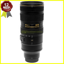 Nikon AF-S Nikkor 70/200 mm f2,8 G ED VR II obiettivo per fotocamere. Usato.