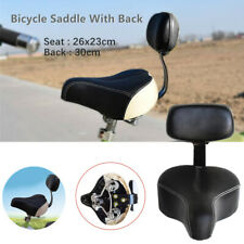 Universal Comfortable Tricycle Mountain Bike Bicycle Saddle Seat Pad w/Back Rest