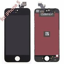 For iPhone 5 Black LCD Display Touch Screen Digitizer Glass Frame Assembly SH33