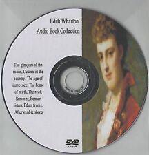 Huge Edith Wharton 23 Audio Books on MP3 DVD 105hrs Reef Summer Innocence Moon