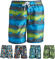 Mens Board Shorts Surf Swimming Shorts Sports Active Shorts Swim Trunks